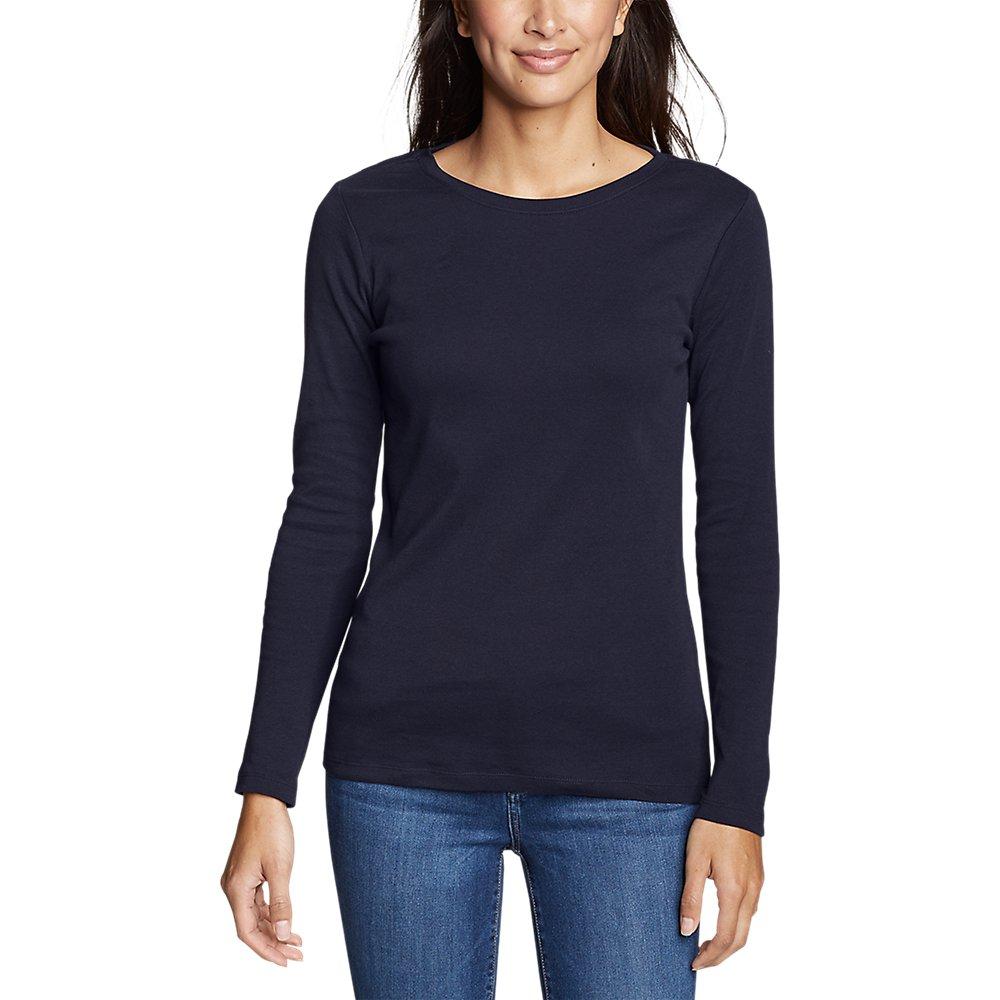 Eddie-Bauer-Women-039-s-Favorite-Long-Sleeve-Crewneck-T-Shirt thumbnail 5