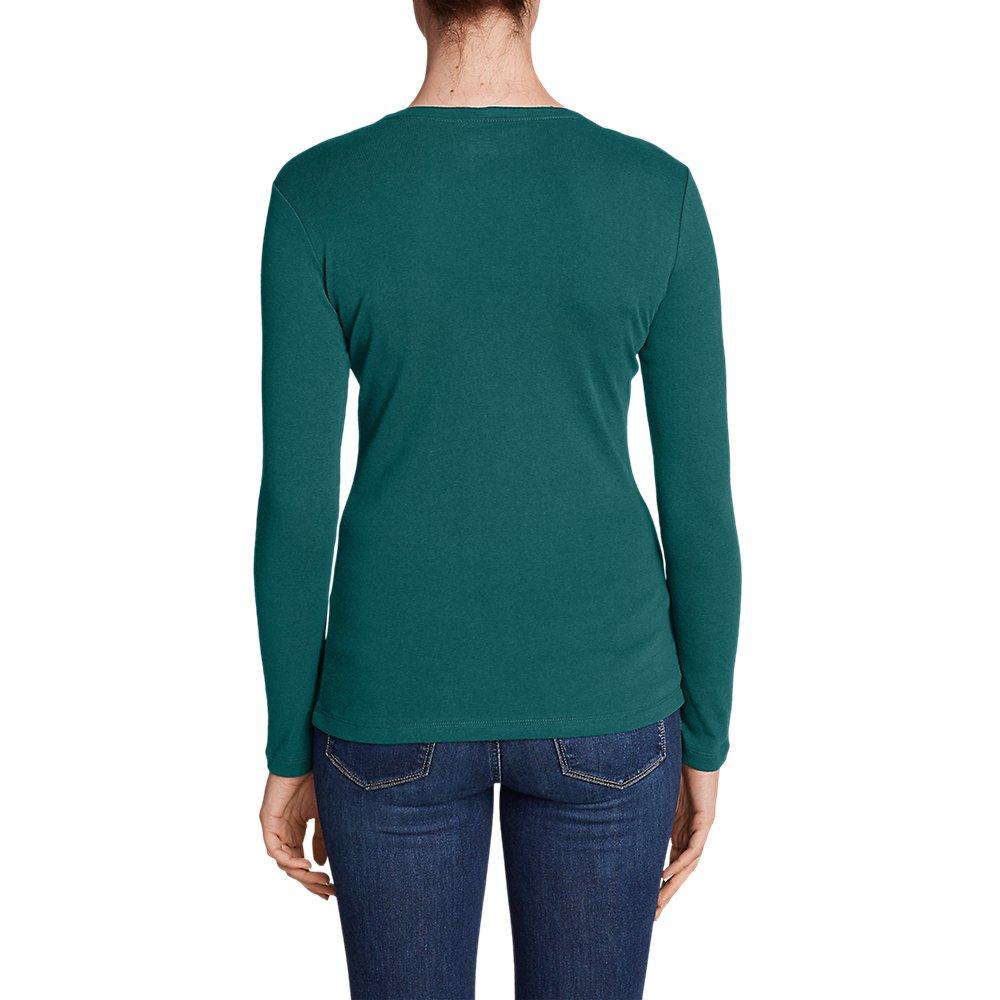 Eddie-Bauer-Women-039-s-Favorite-Long-Sleeve-Crewneck-T-Shirt thumbnail 37