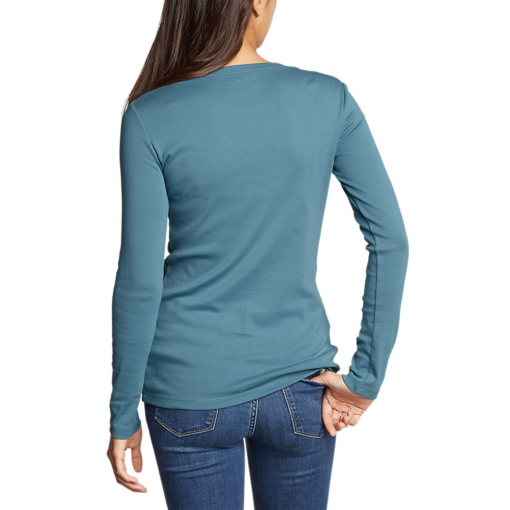 Eddie-Bauer-Women-039-s-Favorite-Long-Sleeve-Crewneck-T-Shirt thumbnail 12