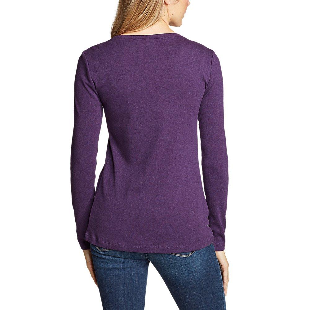 Eddie-Bauer-Women-039-s-Favorite-Long-Sleeve-Crewneck-T-Shirt thumbnail 52