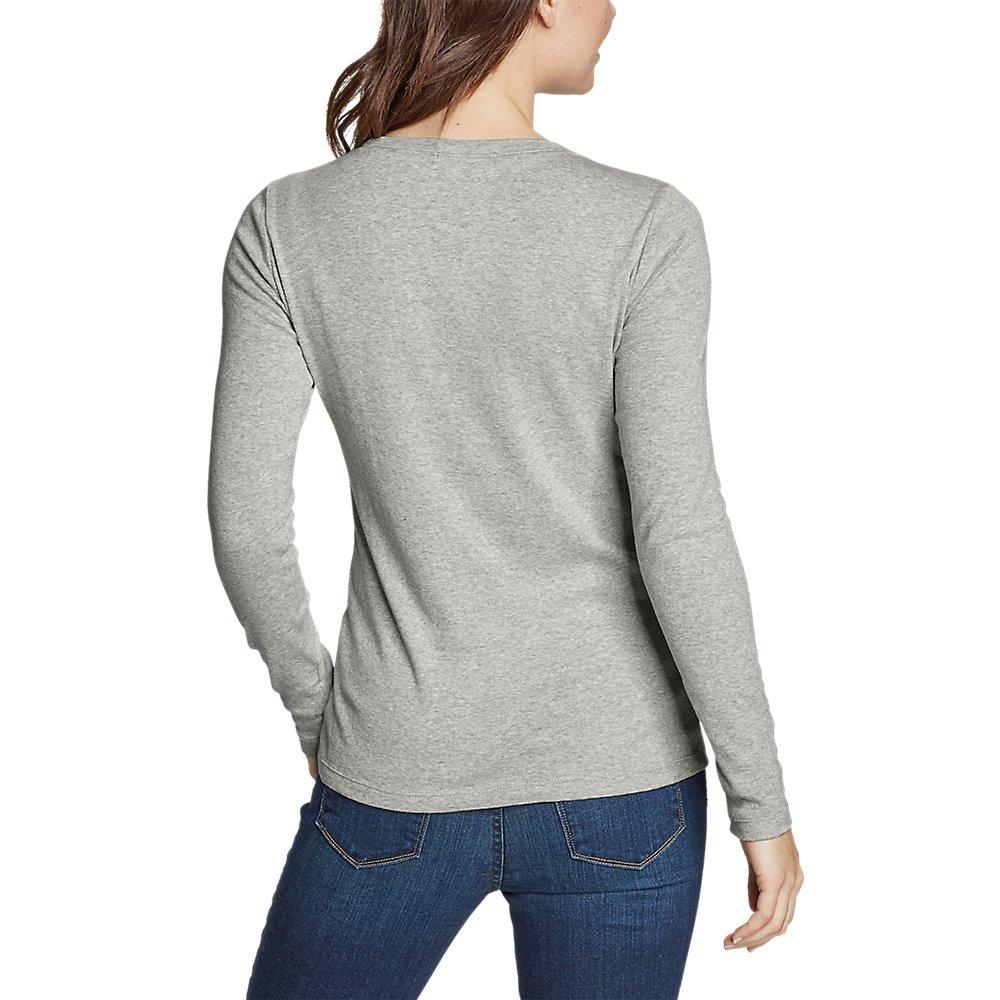 Eddie-Bauer-Women-039-s-Favorite-Long-Sleeve-Crewneck-T-Shirt thumbnail 25