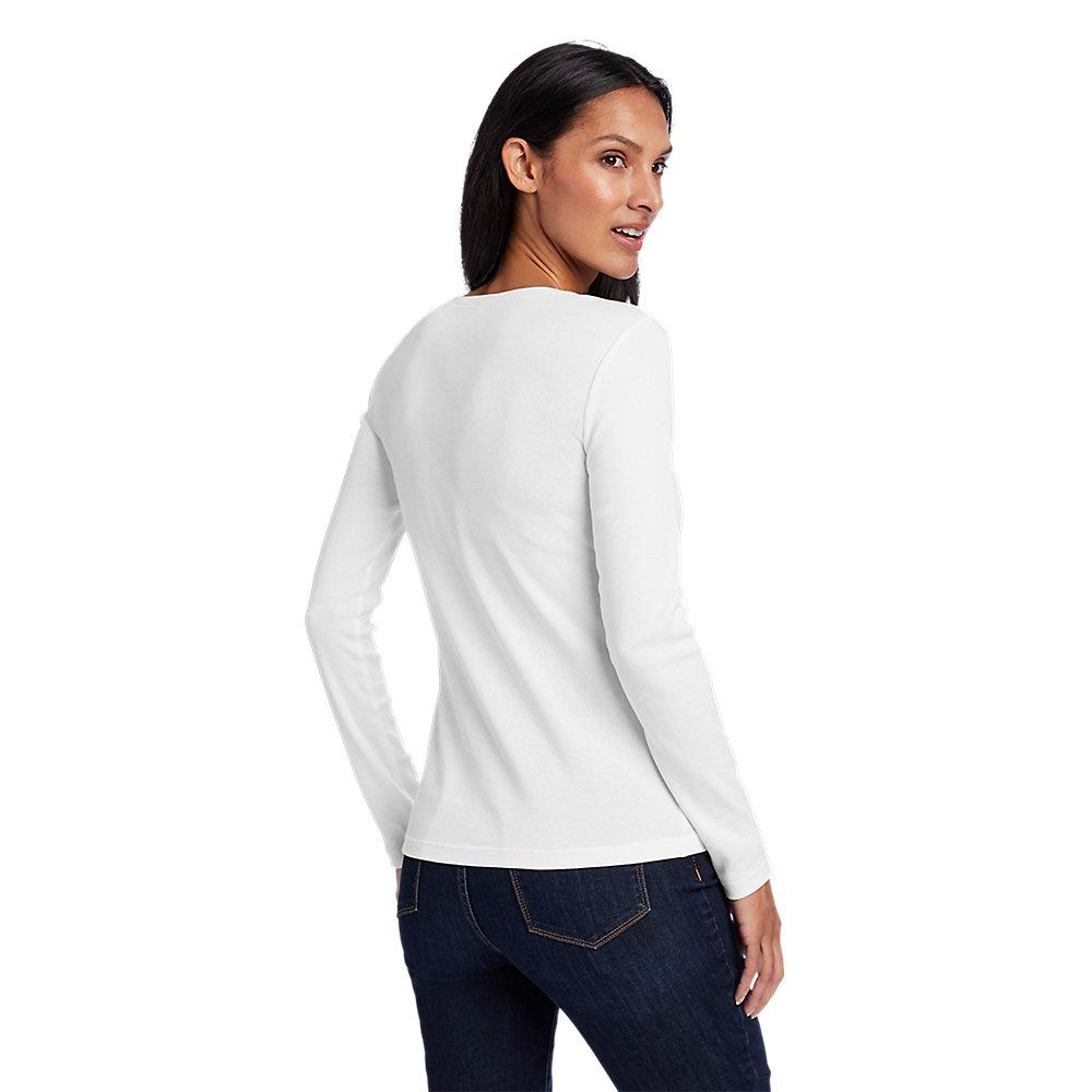 Eddie-Bauer-Women-039-s-Favorite-Long-Sleeve-Crewneck-T-Shirt thumbnail 62