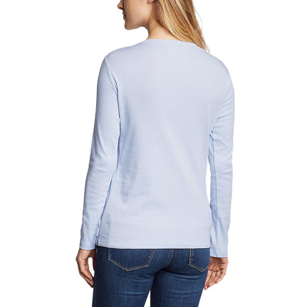Eddie-Bauer-Women-039-s-Favorite-Long-Sleeve-Crewneck-T-Shirt thumbnail 49