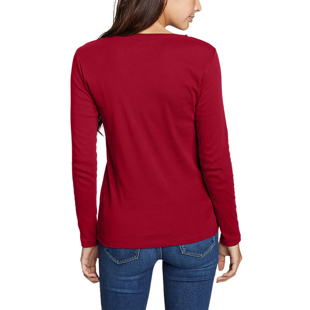 Eddie-Bauer-Women-039-s-Favorite-Long-Sleeve-Crewneck-T-Shirt thumbnail 58
