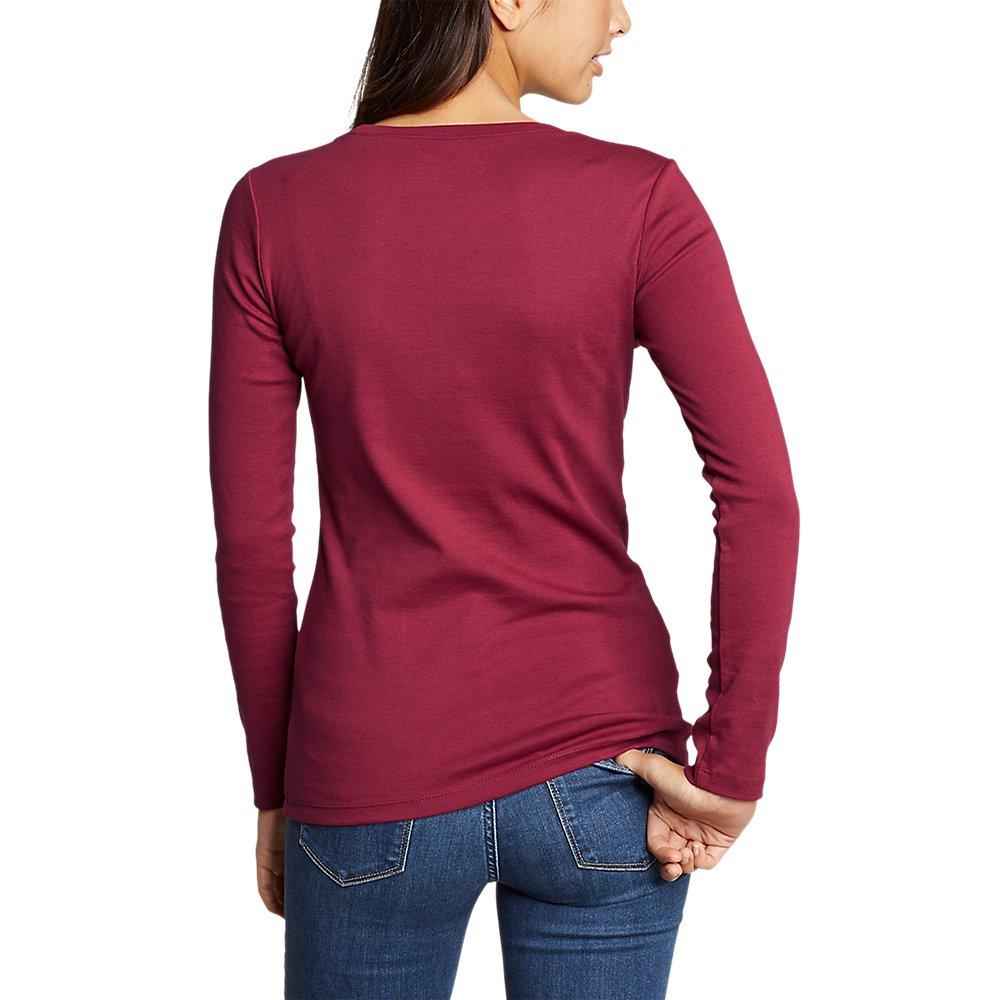 Eddie-Bauer-Women-039-s-Favorite-Long-Sleeve-Crewneck-T-Shirt thumbnail 55