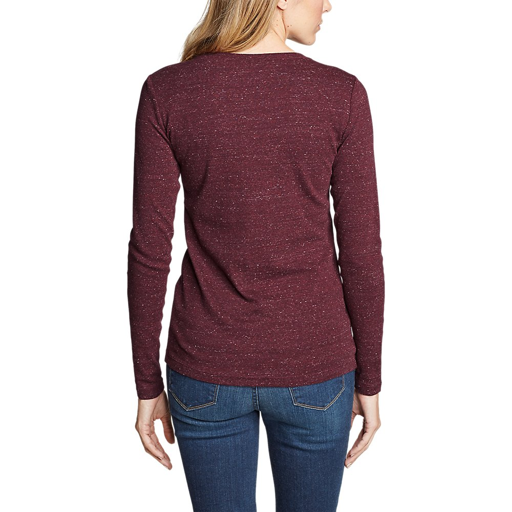 Eddie-Bauer-Women-039-s-Favorite-Long-Sleeve-Crewneck-T-Shirt thumbnail 41