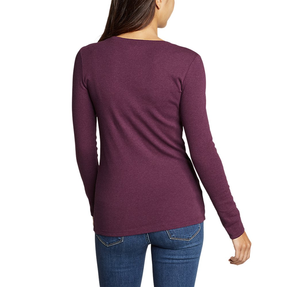 Eddie-Bauer-Women-039-s-Favorite-Long-Sleeve-Crewneck-T-Shirt thumbnail 15