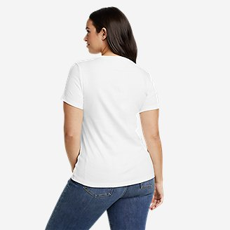Thumbnail View 2 - Women's Favorite Short-Sleeve Crewneck T-Shirt