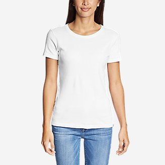 Thumbnail View 3 - Women's Favorite Short-Sleeve Crewneck T-Shirt