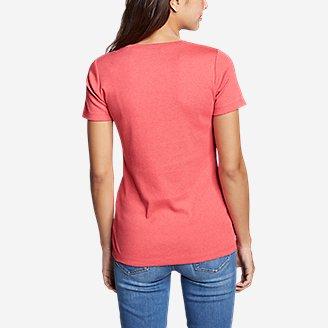 Thumbnail View 2 - Women's Favorite Short-Sleeve Crewneck T-Shirt