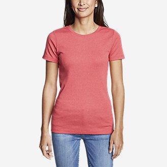 Thumbnail View 3 - Women's Favorite Short-Sleeve Crewneck T-Shirt