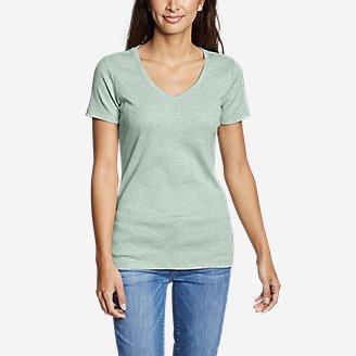 Thumbnail View 3 - Women's Favorite Short-Sleeve V-Neck T-Shirt