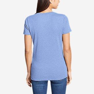 Thumbnail View 2 - Women's Favorite Short-Sleeve V-Neck T-Shirt