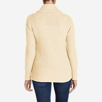 Thumbnail View 2 - Women's Cable Fable Cardigan Sweater