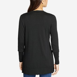 Thumbnail View 2 - Women's Christine Tranquil Long-Sleeve Boyfriend Cardigan