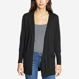 Thumbnail View 3 - Women's Christine Tranquil Long-Sleeve Boyfriend Cardigan