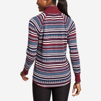 Thumbnail View 2 - Women's Engage 1/4-Zip Sweater