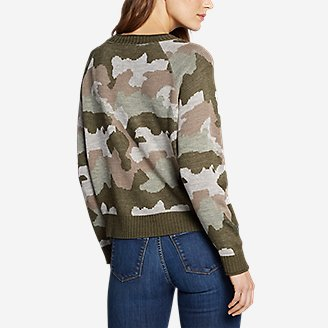 Thumbnail View 2 - Women's Crewneck Pullover Sweater