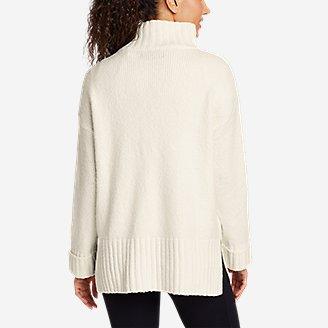 Thumbnail View 2 - Women's Lounge Funnel-Neck Sweater