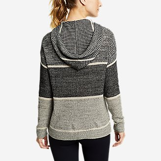 Thumbnail View 2 - Women's Color-Blocked Pullover Sweater