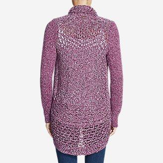 Thumbnail View 2 - Women's Peakaboo Cardigan Sweater