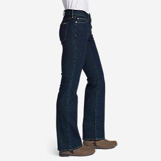 Thumbnail View 3 - Women's StayShape® Boot Cut Jeans - Curvy