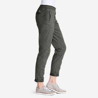 Thumbnail View 2 - Women's Kick Back Twill Pants