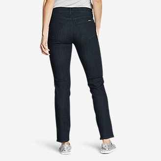 Thumbnail View 2 - Women's Elysian Slim Straight Jeans - Slightly Curvy
