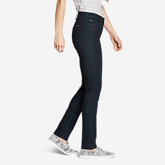 Thumbnail View 3 - Women's Elysian Slim Straight Jeans - Slightly Curvy