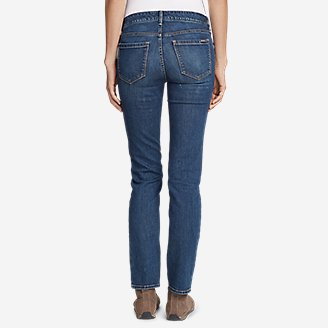 Thumbnail View 2 - Women's Elysian Slim Straight Jeans - Slightly Curvy