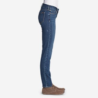 Thumbnail View 3 - Women's Elysian Slim Straight Jeans - Slightly Curvy