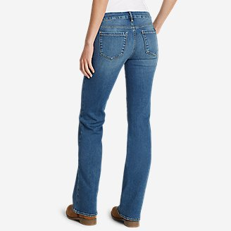 Thumbnail View 2 - Women's Elysian Flare Jeans - Slightly Curvy