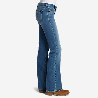 Thumbnail View 3 - Women's Elysian Flare Jeans - Slightly Curvy