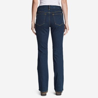 Thumbnail View 2 - Women's StayShape® Boot Cut Jeans - Slightly Curvy