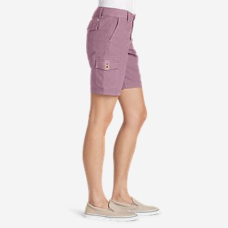 Thumbnail View 3 - Women's Adventurer® Stretch Ripstop Cargo Shorts - Slightly Curvy