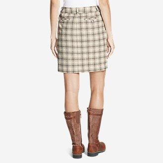 Thumbnail View 2 - Women's Classic Wool-Blend Skirt - Pattern