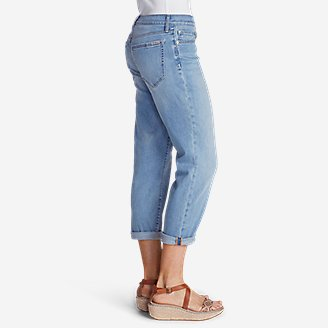 Thumbnail View 3 - Women's Elysian Boyfriend Slim Crop Jeans