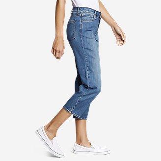 Thumbnail View 3 - Women's Elysian Crop Jeans - Curvy