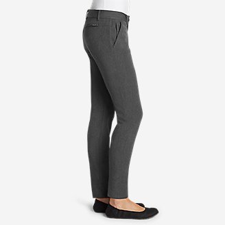 Thumbnail View 3 - Women's Travel Pants - Slightly Curvy