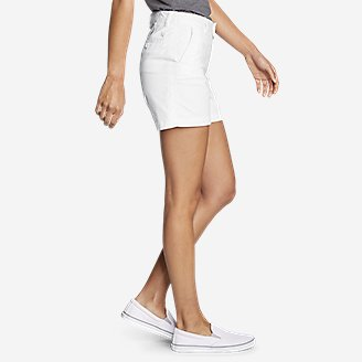 "Thumbnail View 3 - Women's Willit Stretch Legend Wash Shorts - 5"""