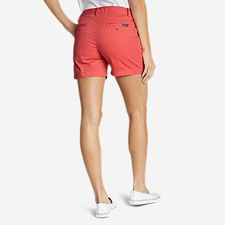Thumbnail View 2 - Women's Willit Stretch Legend Wash Shorts - 5""