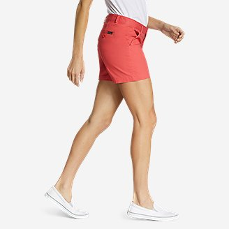 Thumbnail View 3 - Women's Willit Stretch Legend Wash Shorts - 5""