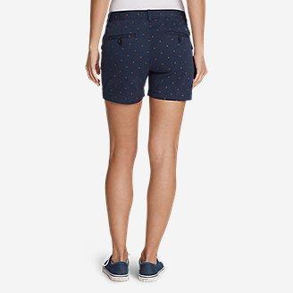 "Thumbnail View 2 - Women's Willit Stretch Legend Wash Shorts - Print, 5"""