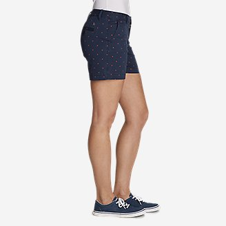 "Thumbnail View 3 - Women's Willit Stretch Legend Wash Shorts - Print, 5"""