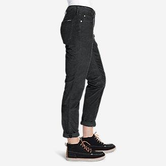 Thumbnail View 3 - Women's Boyfriend Slim Leg Cord Pants