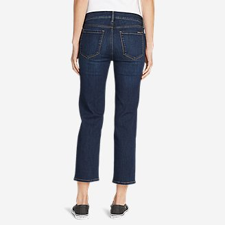 Thumbnail View 2 - Women's Elysian Slim Straight Crop Jeans