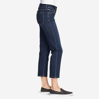 Thumbnail View 3 - Women's Elysian Slim Straight Crop Jeans