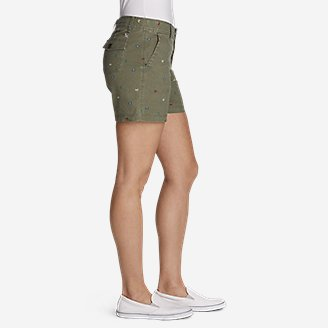 Thumbnail View 3 - Women's Adventurer® Stretch Ripstop Shorts - Print