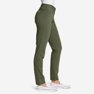 Thumbnail View 3 - Women's Elysian Slim Straight Jeans - Color - Slightly Curvy