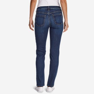 Thumbnail View 2 - Women's Elysian Slim Straight High Rise Jeans